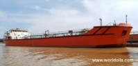 Self Propelled Oil Barge - 80m - For Sale