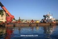 Self Propelled Pontoon Barge for Sale