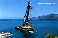 Self-Propelled-Crane Barge for Sale