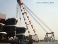 Self-propelled Floating Crane for Sale - 1300 ton