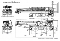 Tadano GR600EX Rough Terrain Crane for sale