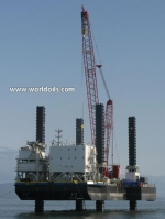 Jackup For Wind Farm Construction and Maintenance