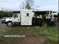 Wireline Unit Truck Mounted With Mast for Sale