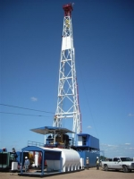 1200 hp land oil rig