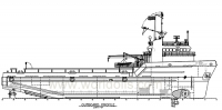 Used Offshore Supply Vessel for Sale