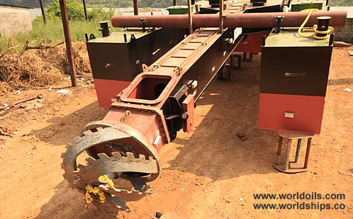 CSD 250 Cutter Suction Mini Dredger