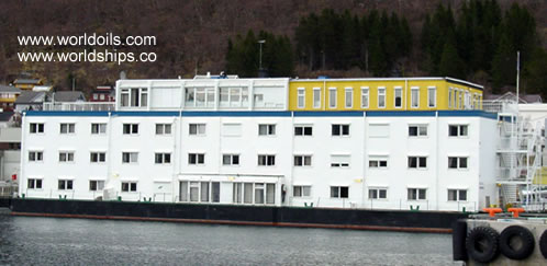 69 rooms Floating hotel for Sale - Upgraded in 2011