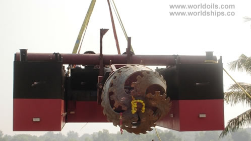 410 HP Cutter Suction Mini Dredger For Sale
