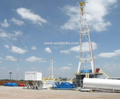National 80UE - 1000 HP SCR drilling rig for sale