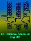 Used Jackup Rig - Le Tourneau Class 53