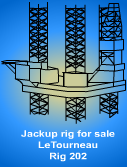Used Jackup Rig for sale - Le Tourneau