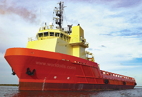 280ft Platform Supply Vessel for Sale