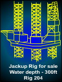 300ft Jackup For Sale - 1981 built