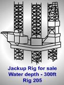 300Foot Jackup Rig