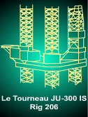 LeTourneau JU-300 IS - 1976 built Jackup Rig for sale